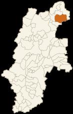 山ノ内町の位置