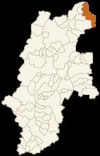 栄村の位置