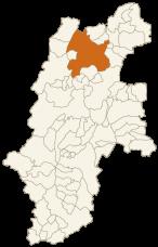 長野市の位置