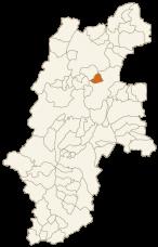 坂城町の位置