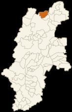 信濃町の位置