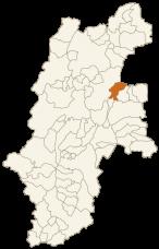 東御市の位置