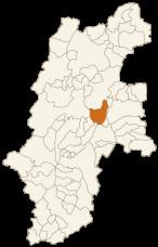 長和町の位置