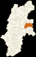 佐久市の位置