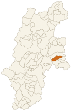 小海町の位置