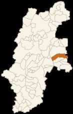 佐久穂町の位置