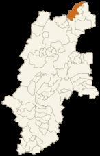 飯山市の位置