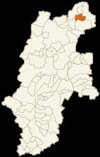 木島平村の位置
