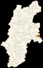 北相木村の位置