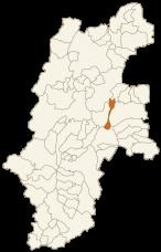 立科町の位置
