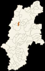 池田町の位置