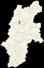 生坂村の位置