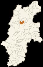 筑北村の位置