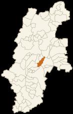 諏訪市の位置