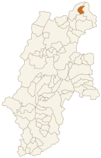 野沢温泉村の位置