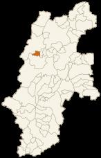 松川村の位置