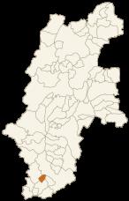 下條村の位置
