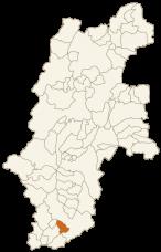 泰阜村の位置