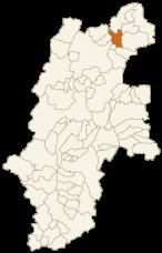 中野市の位置