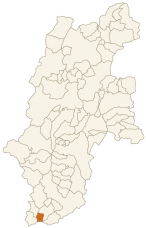 売木村の位置