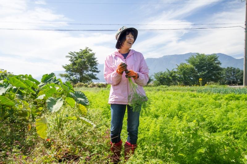 農業に向いている地域の画像