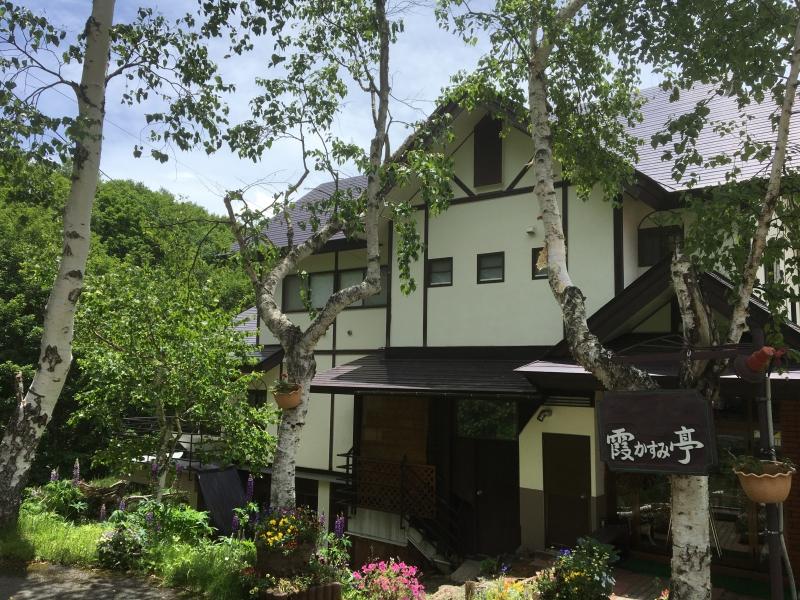須坂市峰の原高原のペンションオーナーの画像