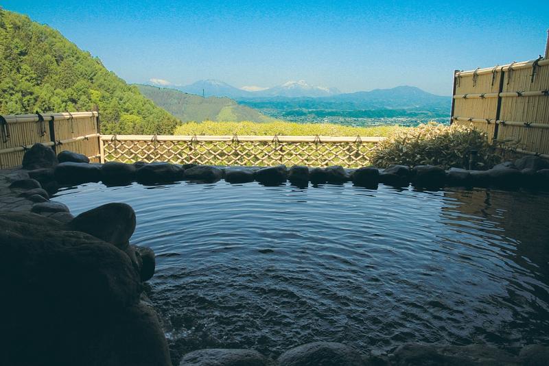 「ぽんぽこの湯」露天風呂からの眺めがお気に入りの画像