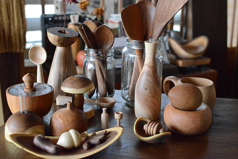 ◆木工作家としての画像